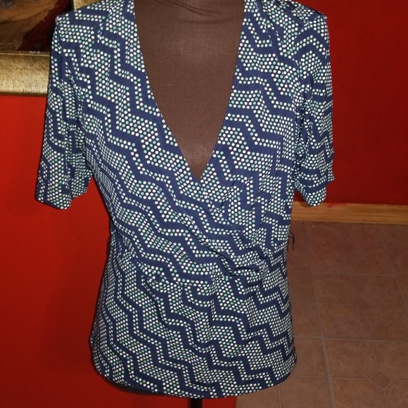 official photos hottest sale bottom price (2 for $10)Size L merona low cut blouse